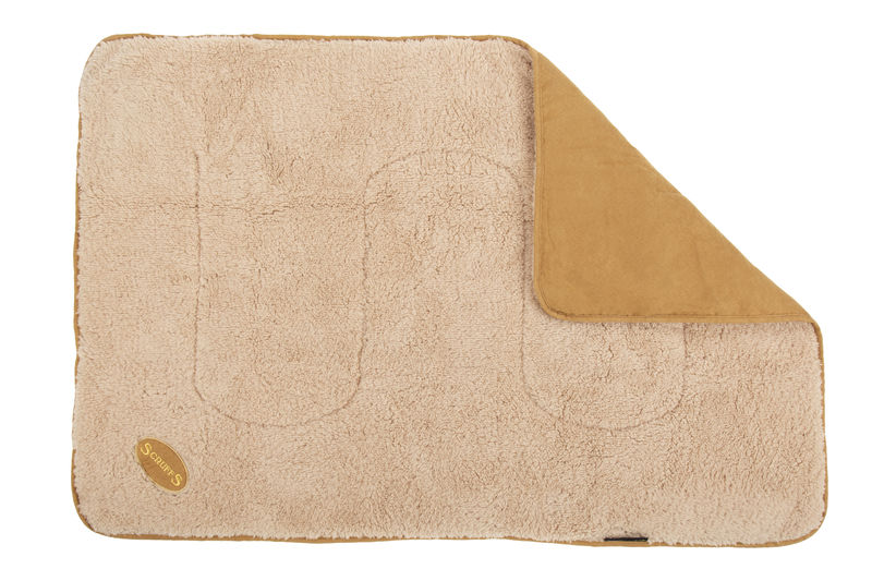 Scruffs Reversible Snuggle Blanket in Tan