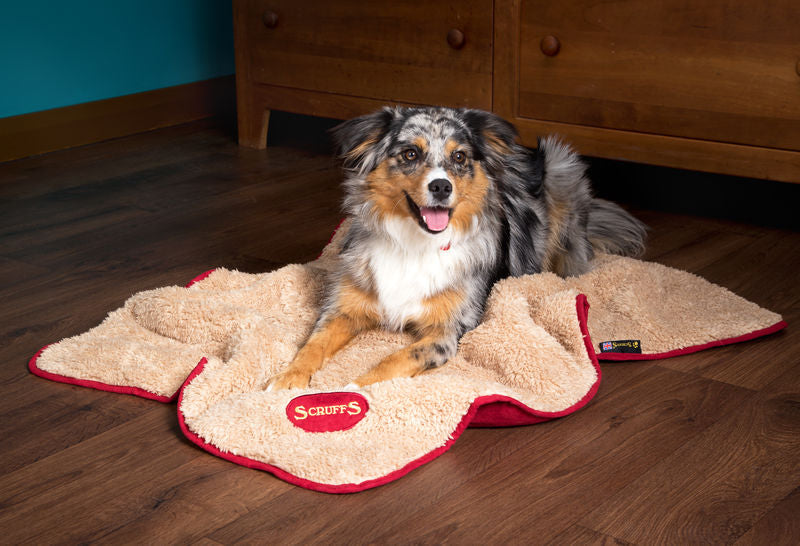 Scruffs Reversible Snuggle Blanket in Red