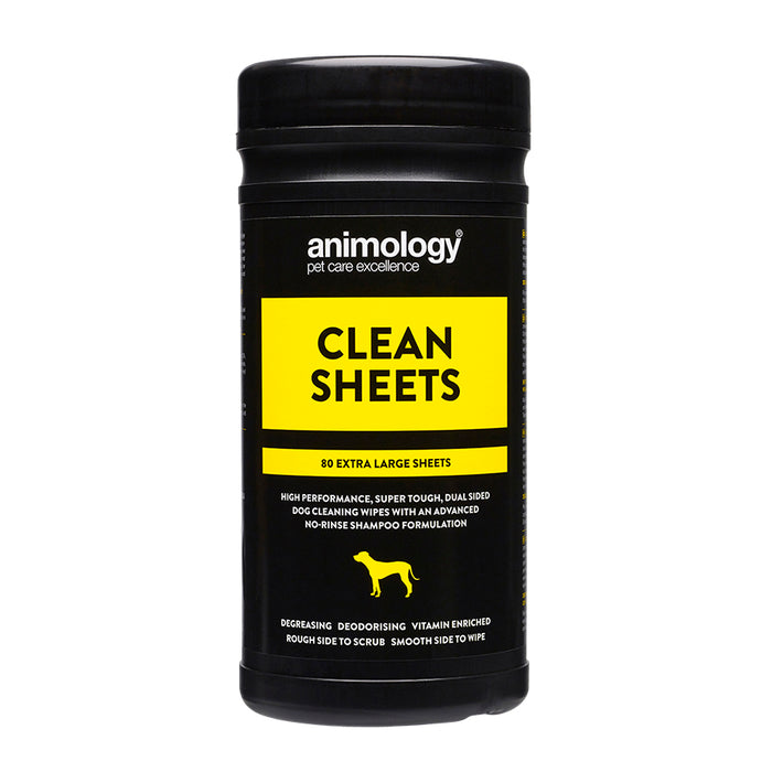 Dog Clean Sheet Wipes by Animology