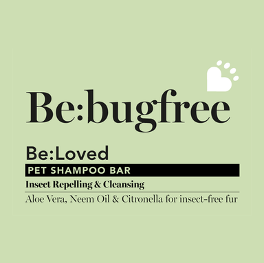 Be: Bugfree Insect Repelling Natural Dog Shampoo Bar