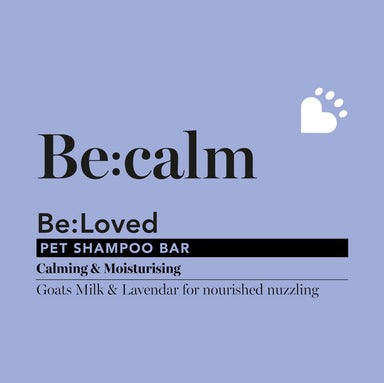 Be: Calm Moisturising Natural Dog Shampoo Bar