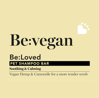 Be: Vegan Soothing Natural Dog Shampoo Bar