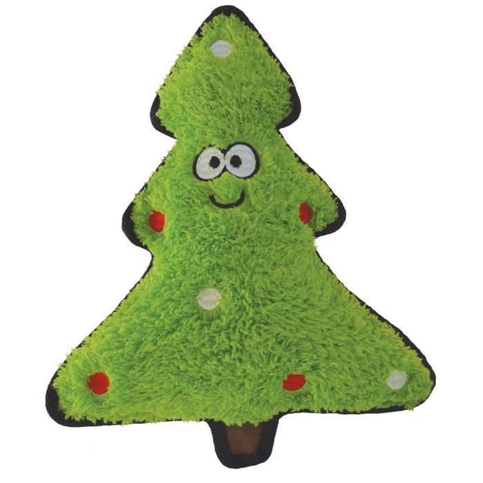 Christmas Tree Crinkly Dog Toy