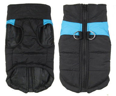 Blue Winter Body Warmer for dogs