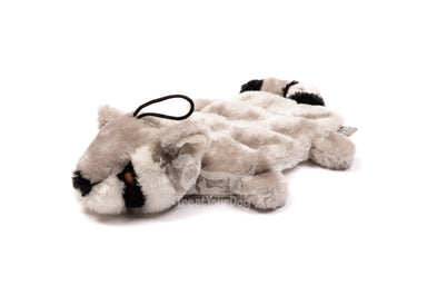 Wild Raccoon Multi-squeak Dog Toy