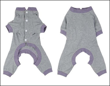 Dog Pyjamas Grey - Small To Medium Breeds