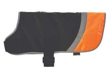 Go Walk High Vis Reflective Dog Coat in Orange