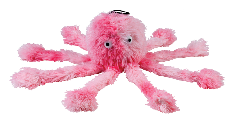 Octopus Soft Plush Toy for Dogs with Squeaker
