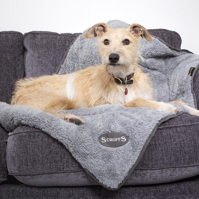 Scruffs Reversible Cosy Blanket in Grey