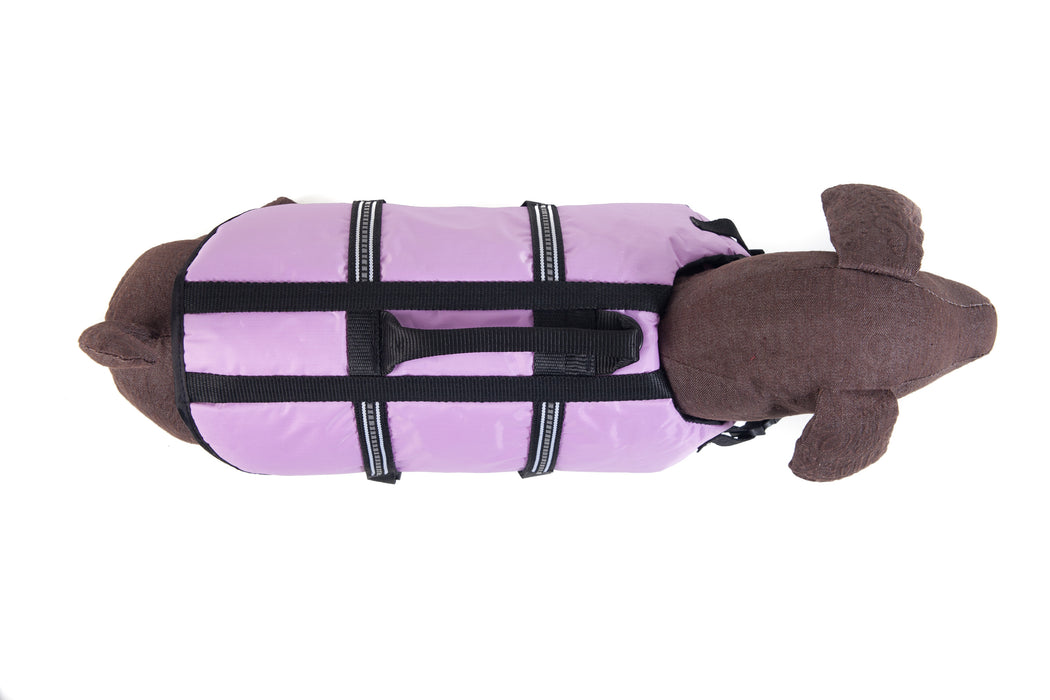 Dog Life Jacket Purple Smaller Breeds