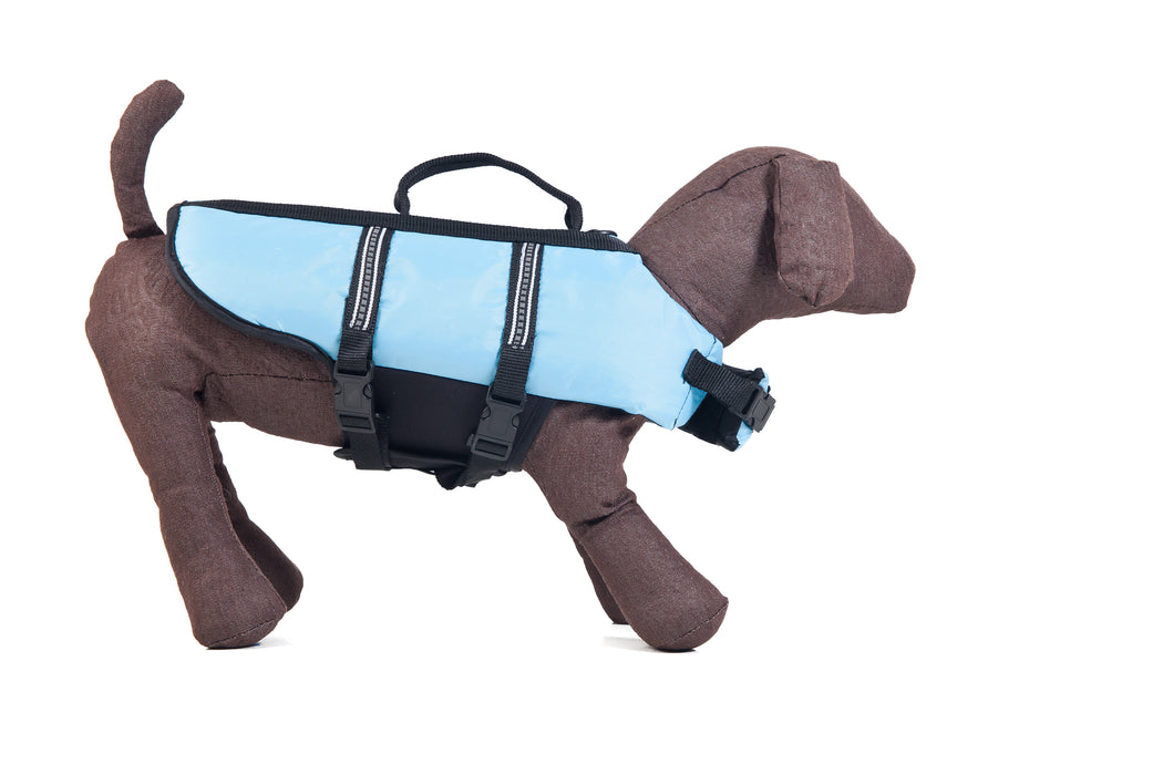 Dog Life Jacket Blue Smaller Breeds