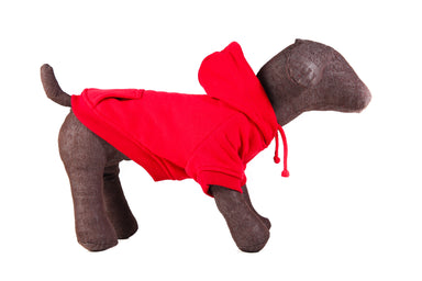 Dog Hoodie in Red