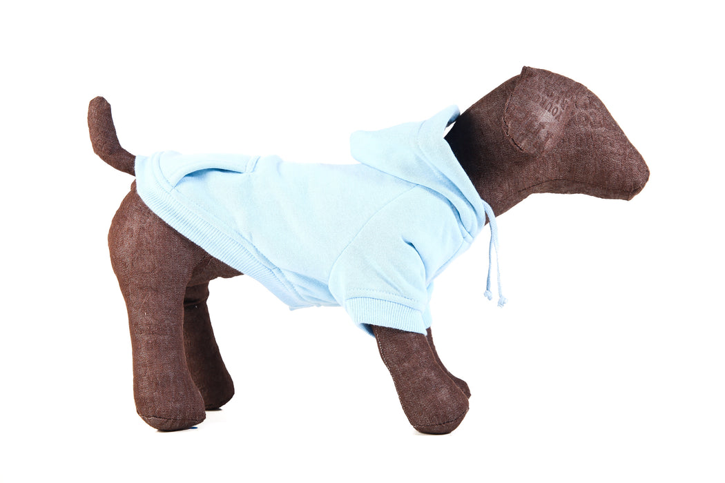 Dog Hoodie in Blue - Small Dogs
