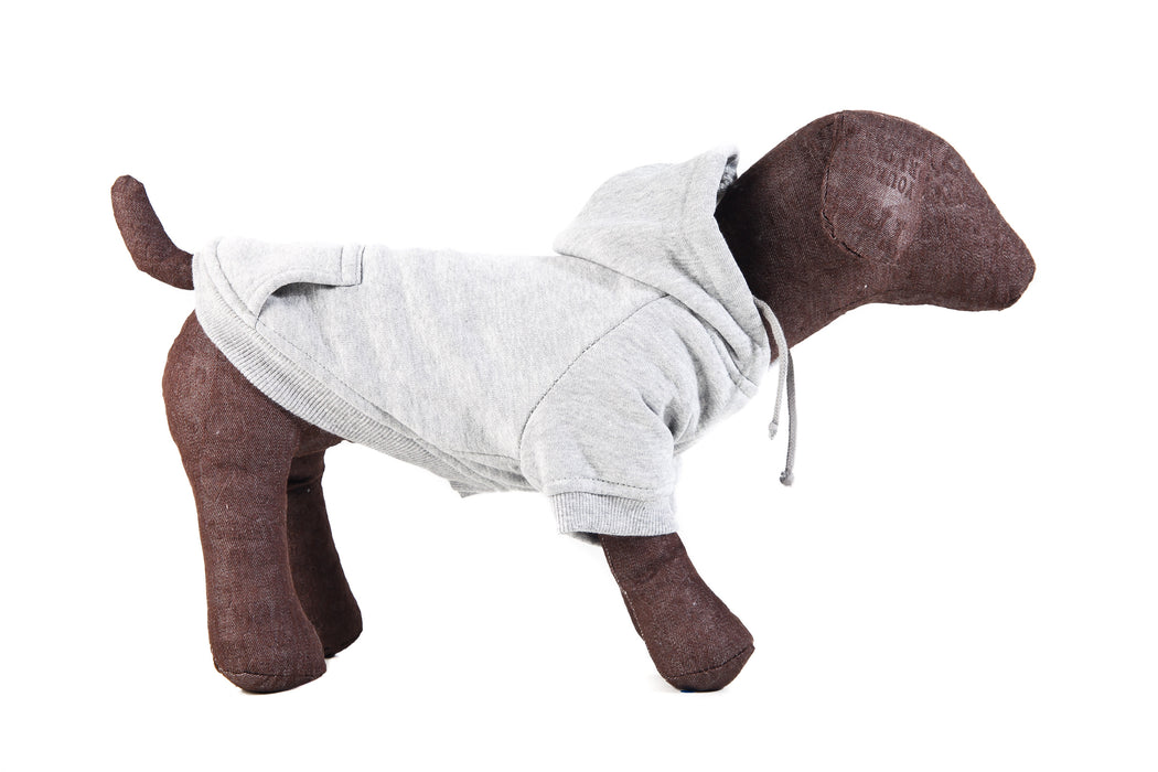 Hoodie for dogs in Grey
