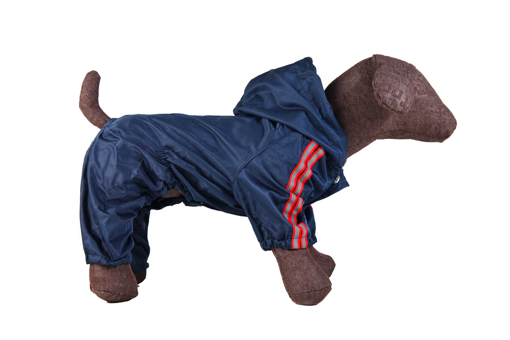 Small Dog Raincoats Navy Blue