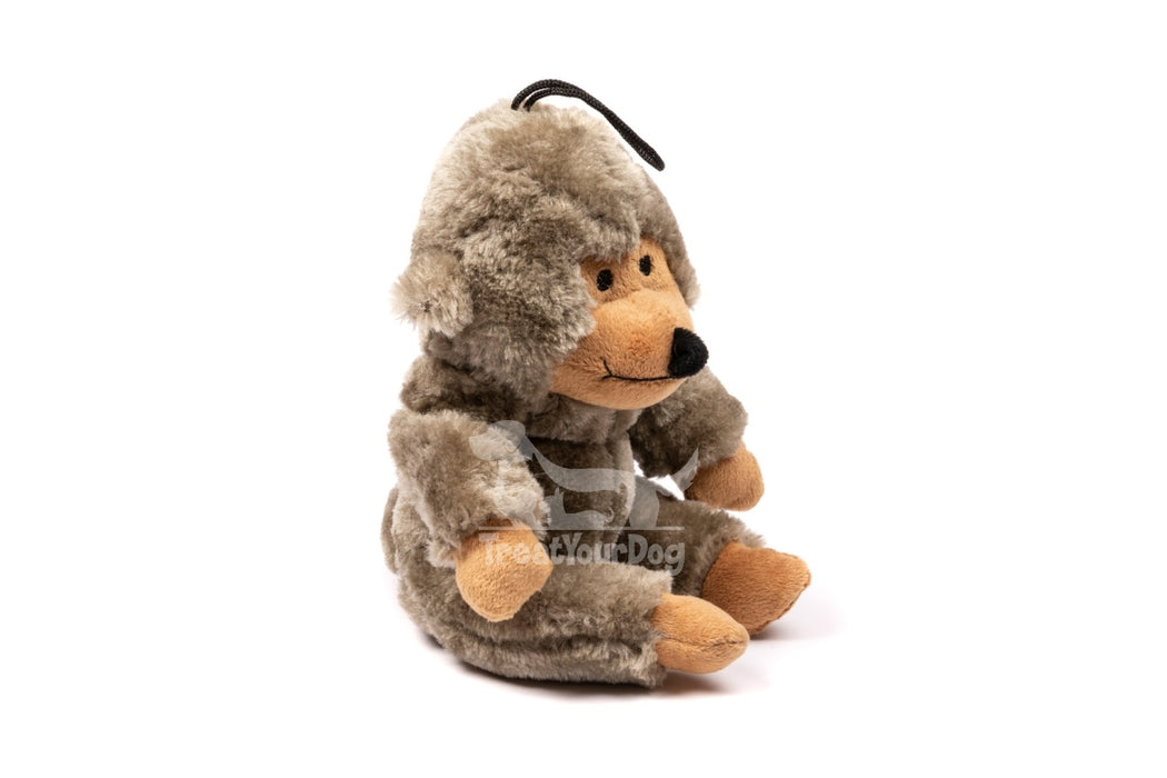 Wild Monkey Soft Plush Dog Toy
