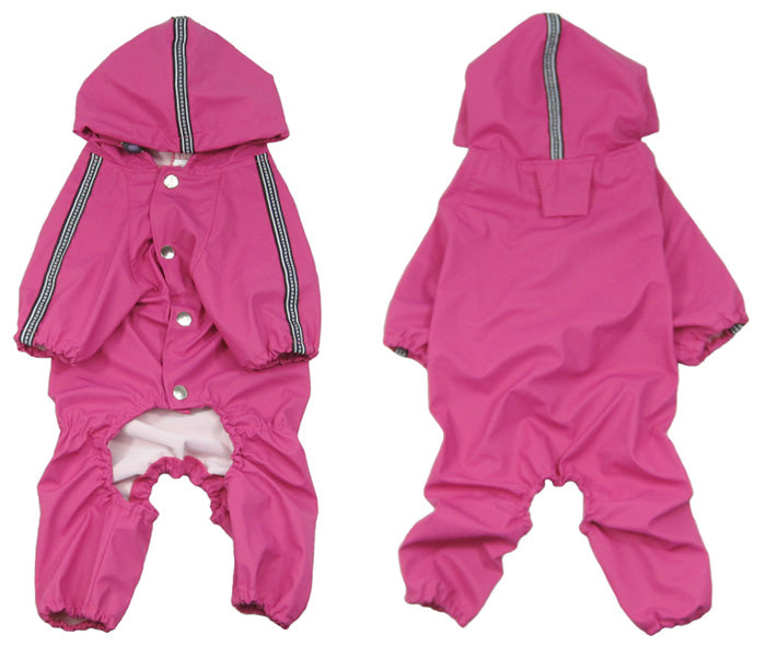 Small Dog Raincoat Pink