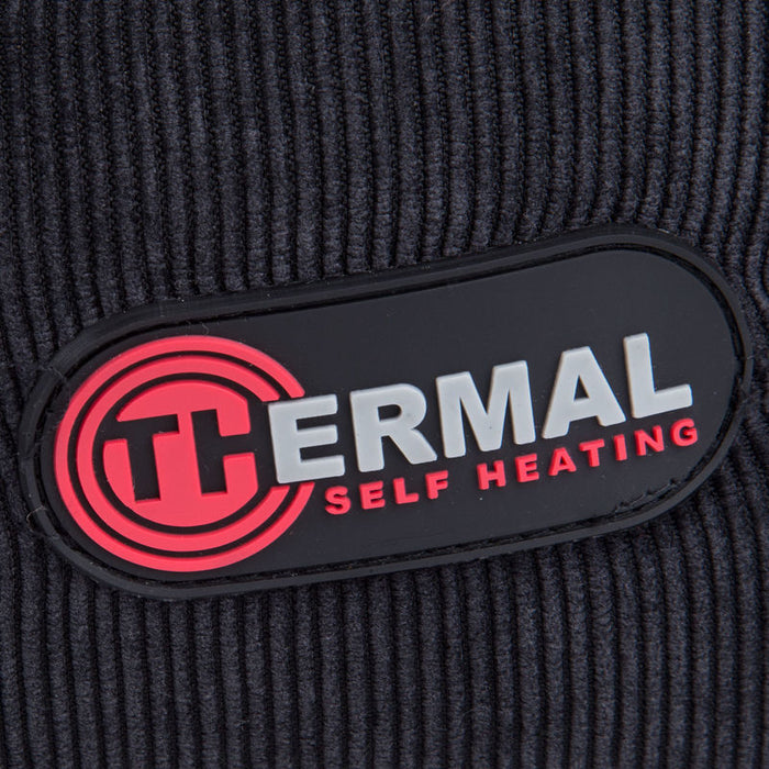 Thermal Self Heating Blanket in Black