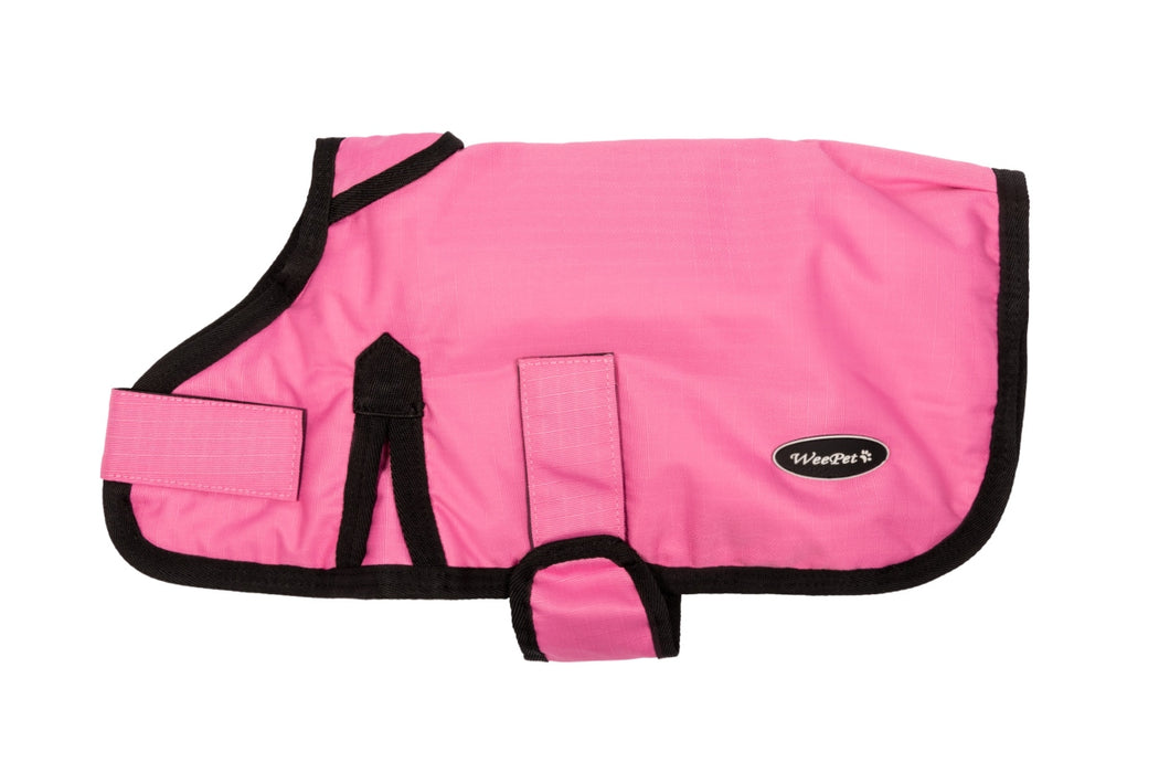 All Seasons Waterproof Dog Coat in Pink