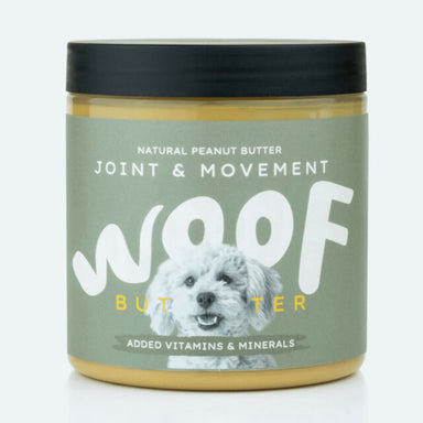 Woof Peanut Butter for Dogs Joint Movement