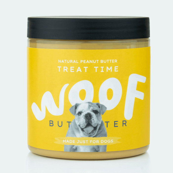Woof Peanut Butter for Dogs Treat Time