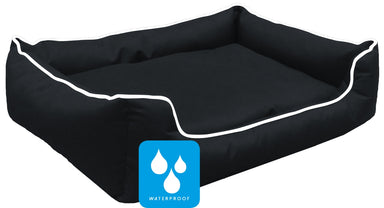 Ultimate Memory Foam Black Waterproof Dog Bed
