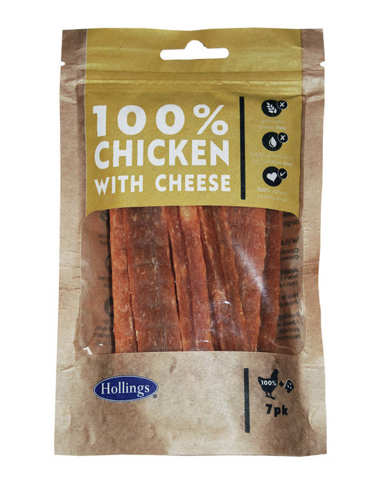 Chicken with Cheese 100% Natural Dog Treat