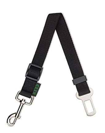 Dog car seat belt attachment to fit harness