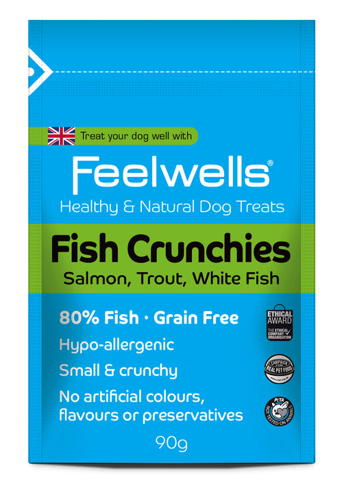 Feelwell's Fish Crunchies Natural Treats