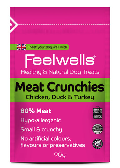 Feelwell's Meat Crunchies Natural Treats