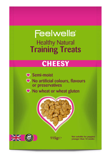 Feelwell's Natural Training Treats - Cheese