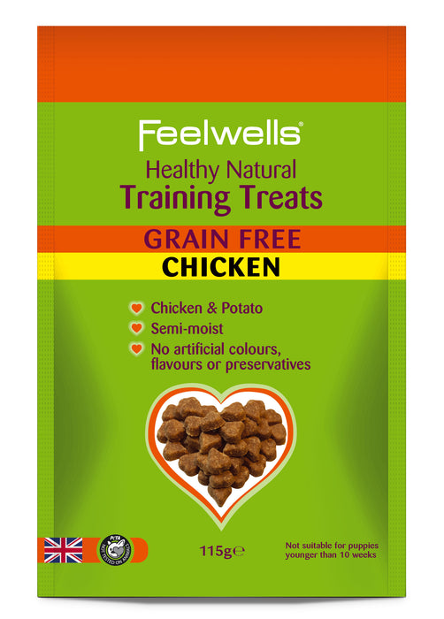 Feelwell's Grain Free Training Treats - Chicken