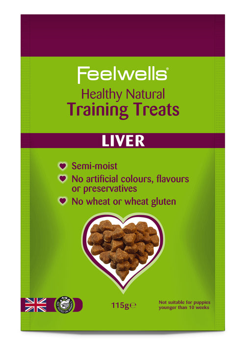 Feelwell's Natural Training Treats - Liver