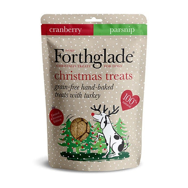 Forthglade Christmas Dog Treats with Turkey, Cranberry & Parsnip