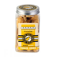 Freeze Dried Banana 100% Natural Treats - Kiwi Walker
