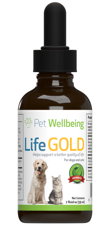 Life Gold for Dogs - Cancer and Lymphatic Support
