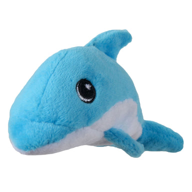 Tiny Tuff Dolphin Dog Toy