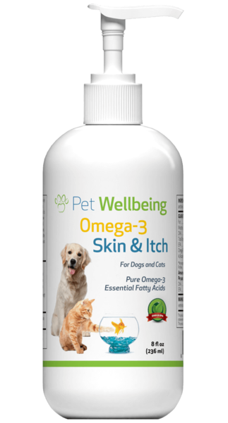 Omega 3 Skin & Itch for Dogs 8oz