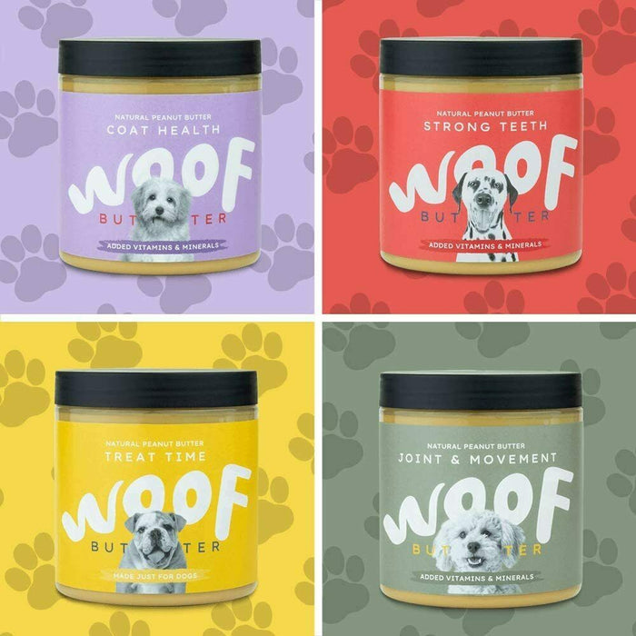 Woof Peanut Butter for Dogs Strong Teeth
