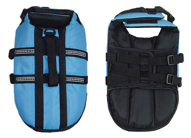Dog Life Jacket in Blue