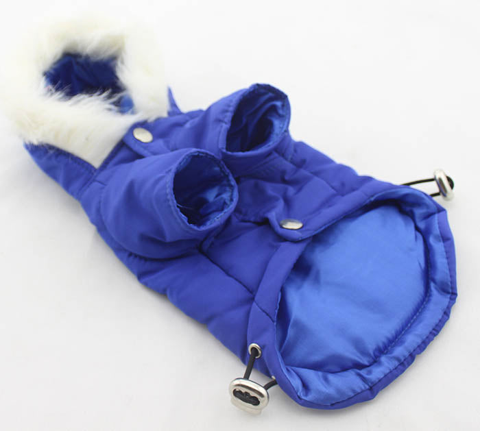 Blue Parka- with lead hole