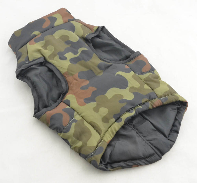 Camouflage Body Warmer