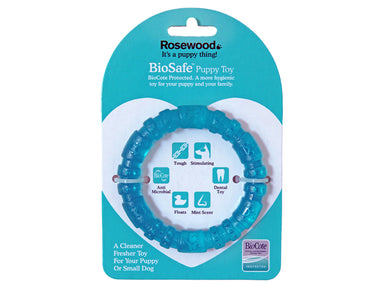 BioSafe Germ Smart Puppy Ring Toy