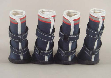 Dog Waterproof Rainboots- Navy