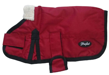 Waterproof Dog Coat Red