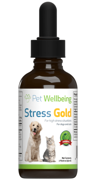 Dog Wellbeing Stress Gold for High Stress Situations 2oz