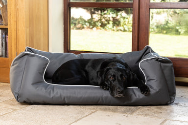 Walksters Ultimate Memory Foam Grey Waterproof Dog Bed
