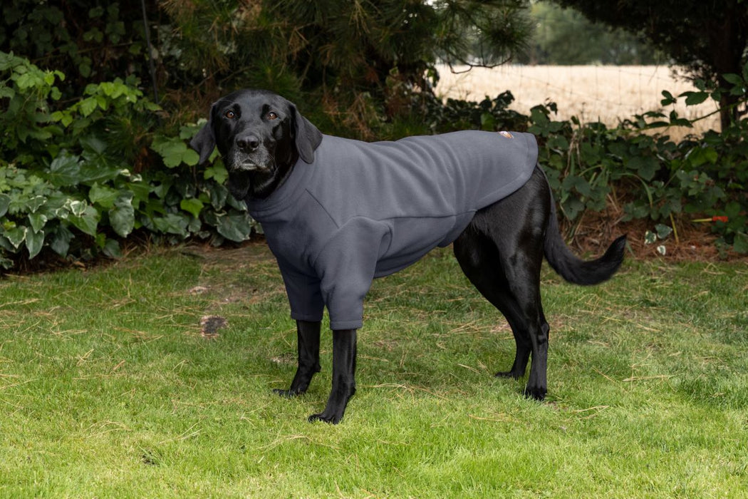 Walksters Water Resistant Dog Fleece Jumper in Grey
