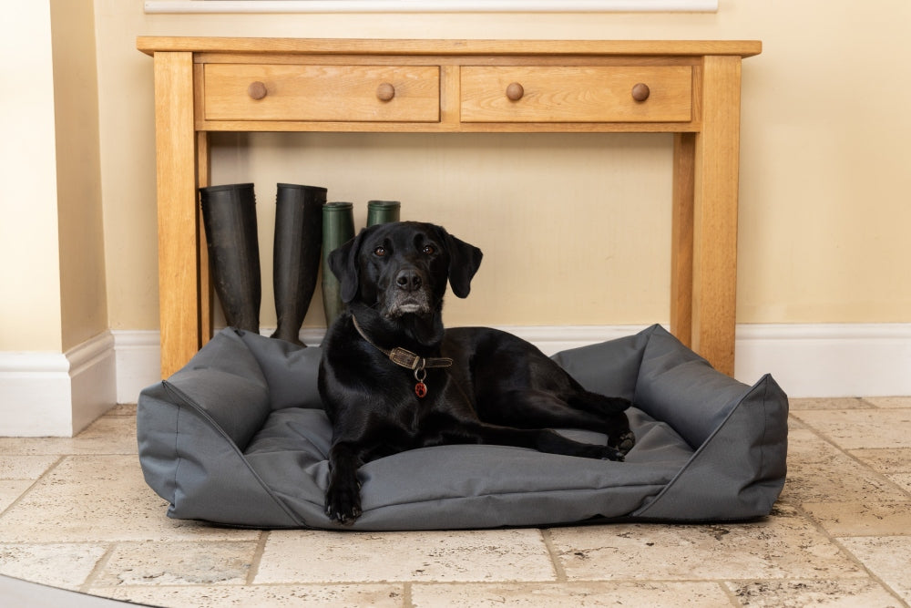 Waterproof Dog Bed in Grey
