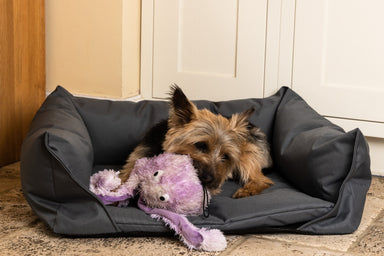 Walksters Waterproof Dog Bed in Grey